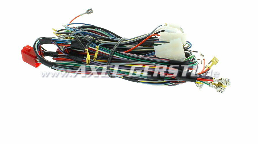 Wiring Harness Assembly Without Hazard Warning Flasher Fiat 500 F R