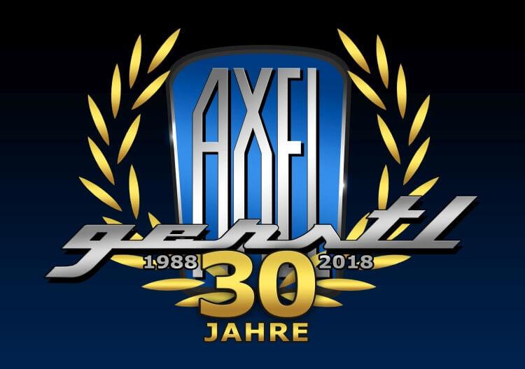 30 Jahre Axel Gerstl Logo