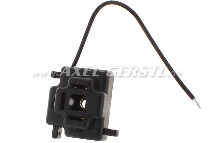 Stecker für Scheinwerferlampe, 3-polig, Marke HELLA Fiat 500