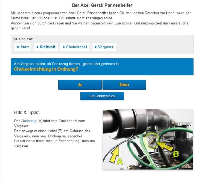 Der Axel Gerstl Pannenhelfer