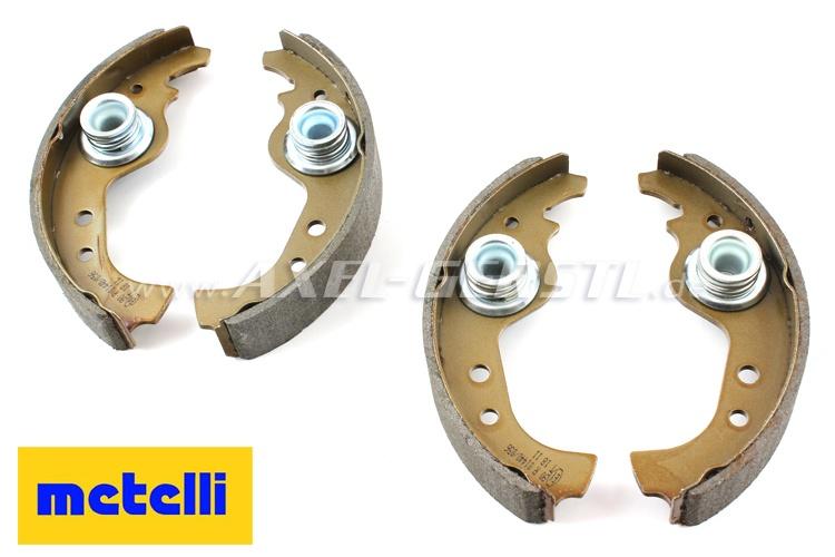 Bremsbacken-Satz incl. Exzenter, Lkr.98 / ital.Marke METELLI Fiat 126P/126 BIS