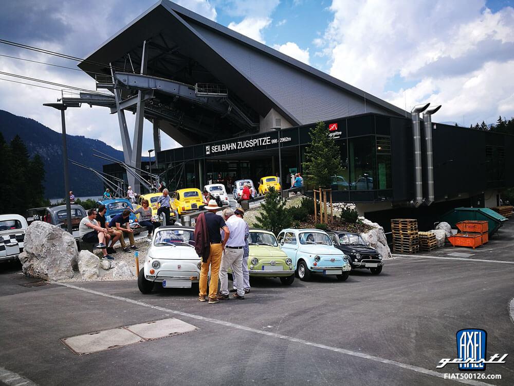 Ausfahrt mit dem Mini Club München (oder wenn die Italiener die Briten treffen) - ein Bericht von Angie Schlegel