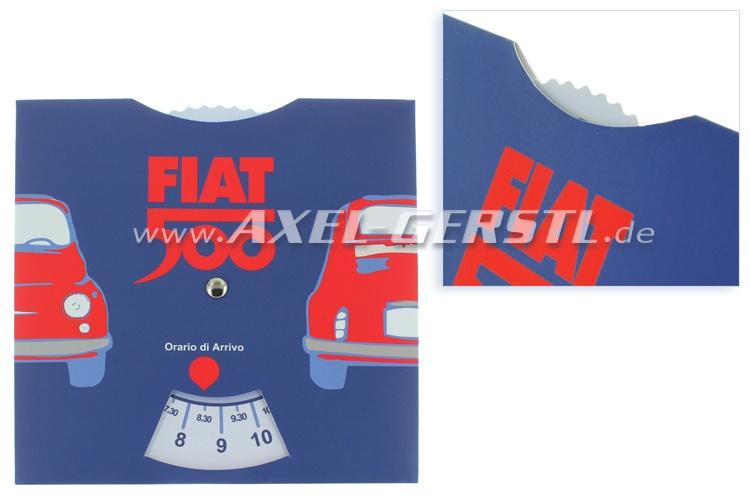 Parkscheibe, Motiv Fiat 500