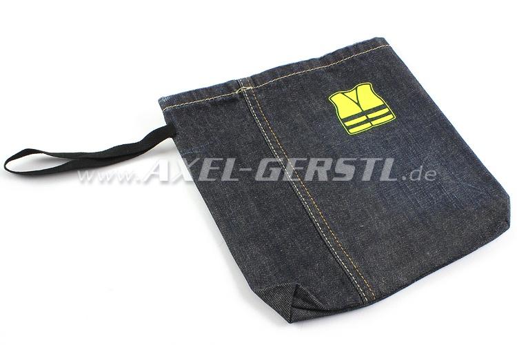Safety vest storage bag Jeans