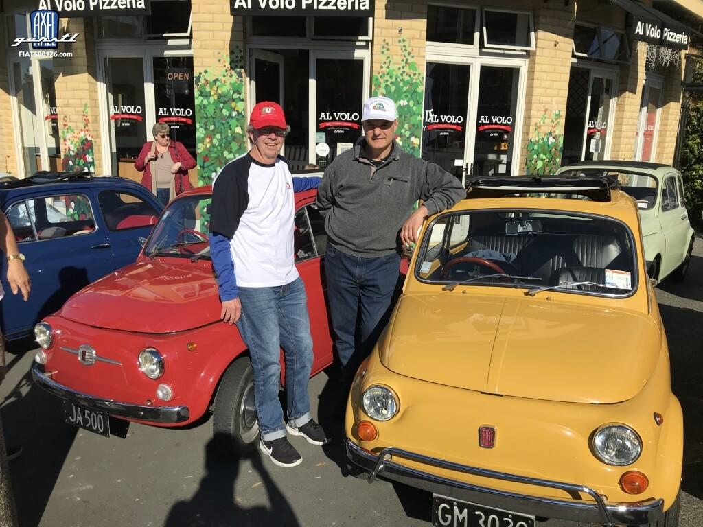 Das Fiat 500 World Wide Meeting in Neuseeland