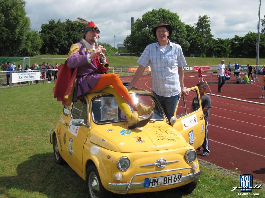 Man versus car