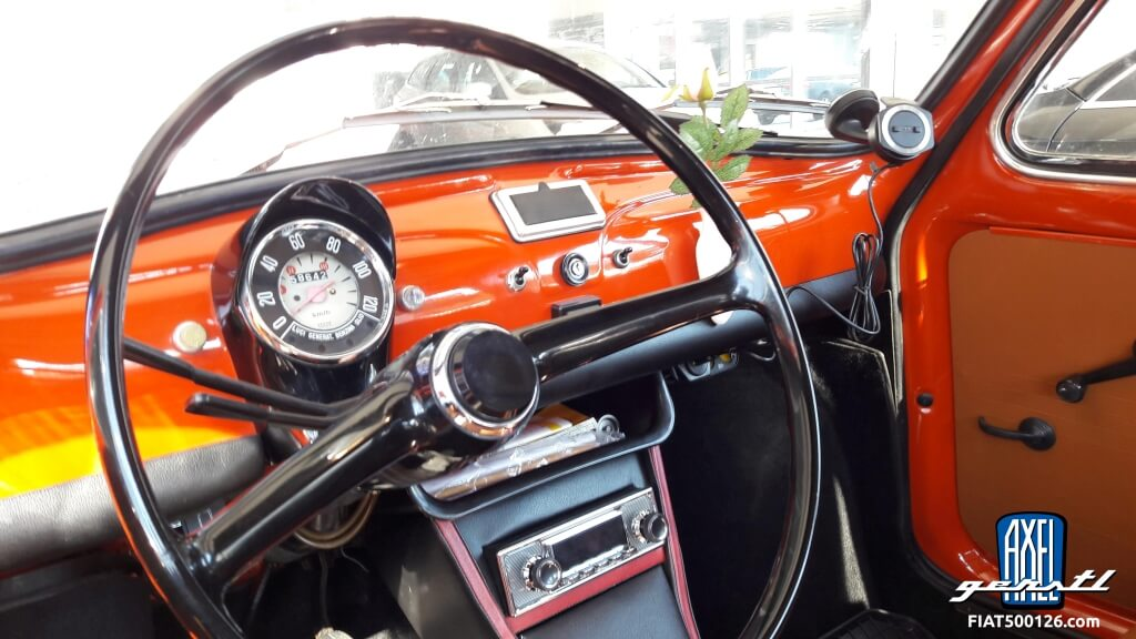 Ma Fiat 500 - une histoire de Georg Csapo