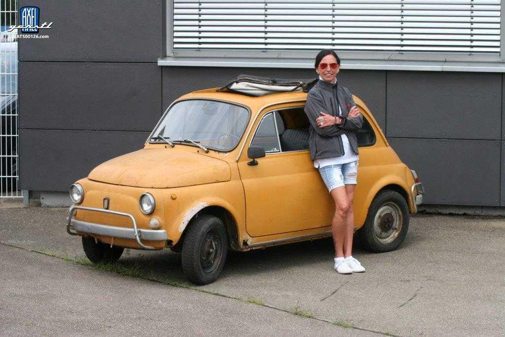 Meine Fiat 500 - eine Geschichte von Martina Diebold