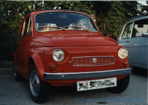 History Images Picture Gallery Francis Lombardi Fiat 500 126 600