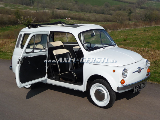 History Images Picture Gallery Fiat 500 Giardiniera Fiat 500
