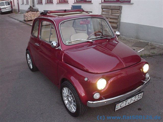 History Images Picture Gallery Fiat 500 Tuning Fiat 500 Classic