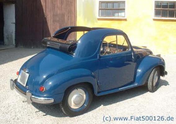 Fiattopolino Fiat 500 126 600 Ersatzteile Axel Gerstl