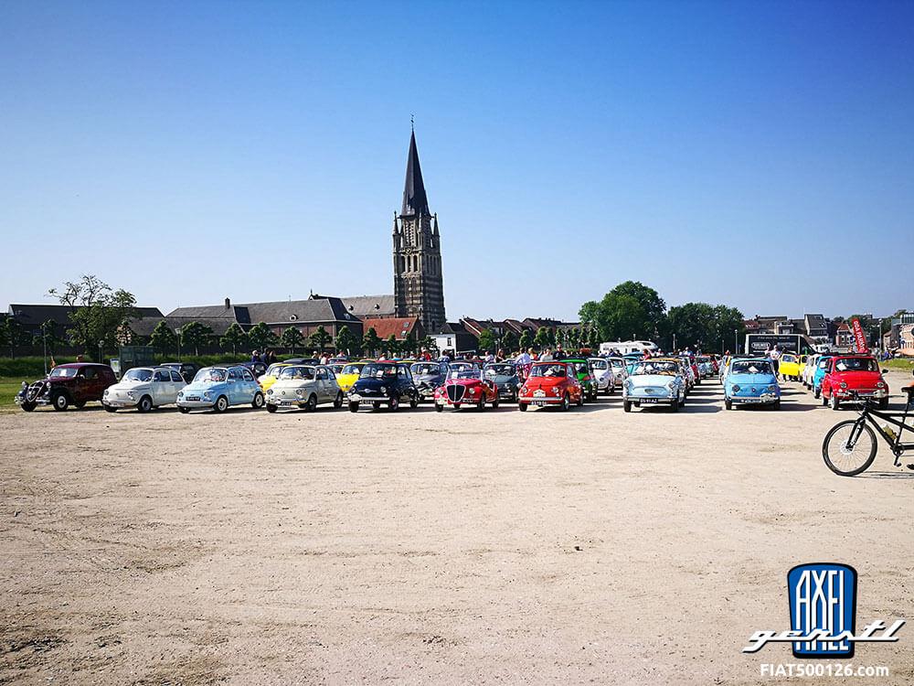 Das Fiat 500 Treffen in Holland, Sittard-Geleen Pfingsten 2018