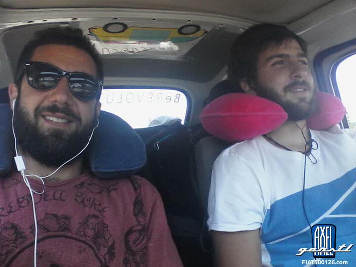 Von Turin nach Japan in einem Fiat 500