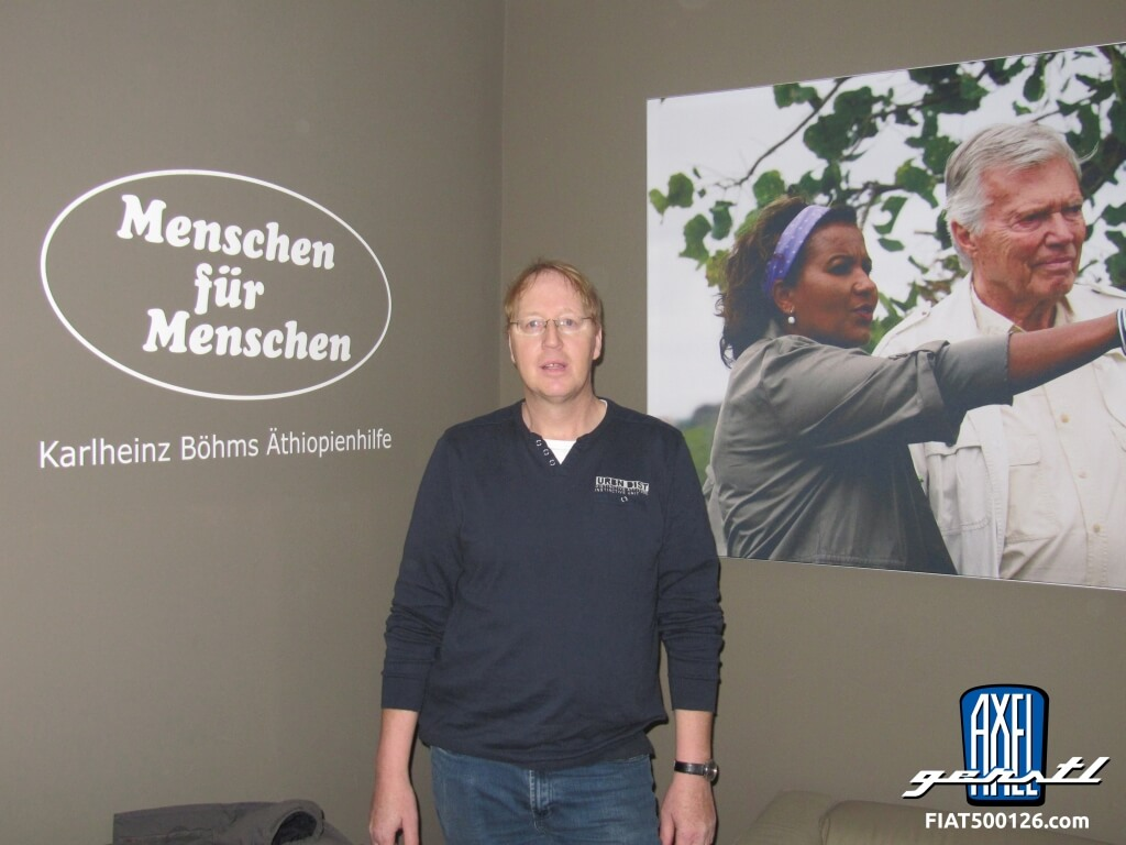Burkhard on tour in Germany: in 28 days through 16 states and back