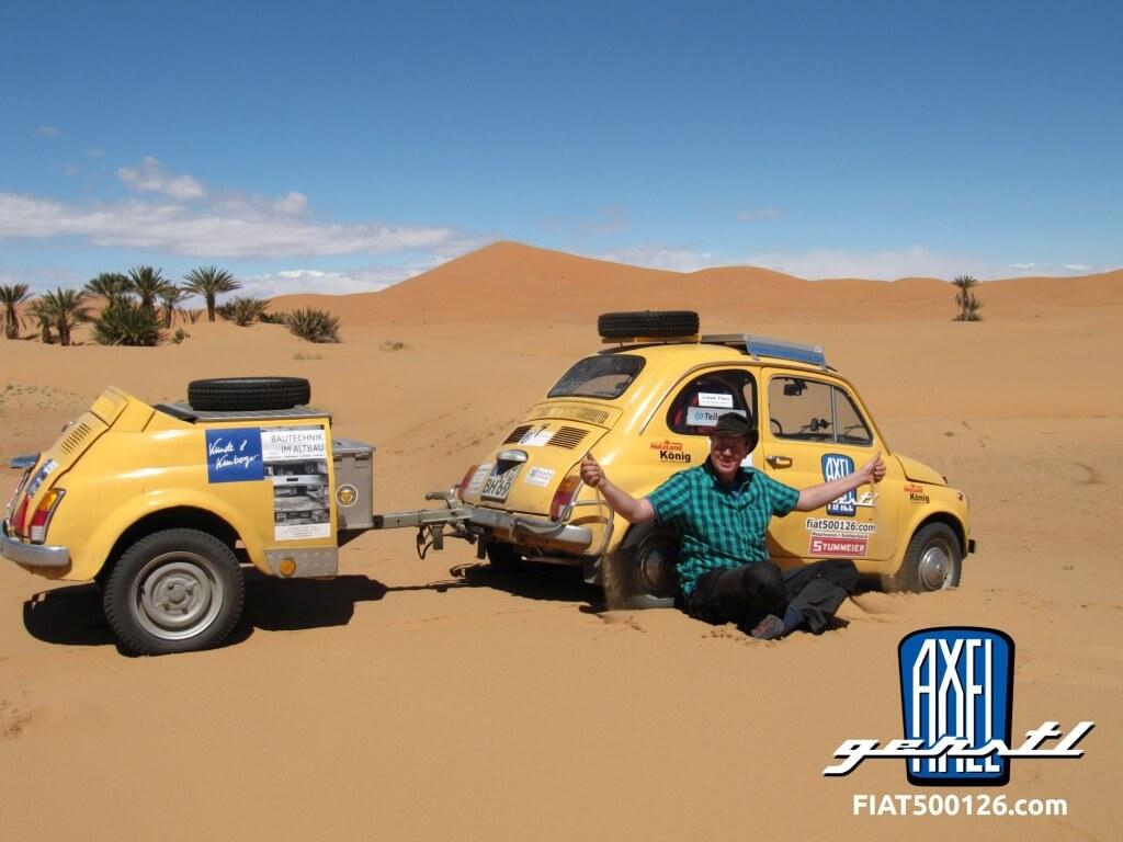 Von Paris nach Dakar in 9 Wochen