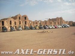 Fiat 500 Abenteuerreise durch Tunesien