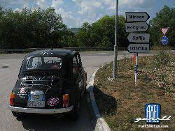 Rom-Istanbul-Rom - mit einem Fiat 500!