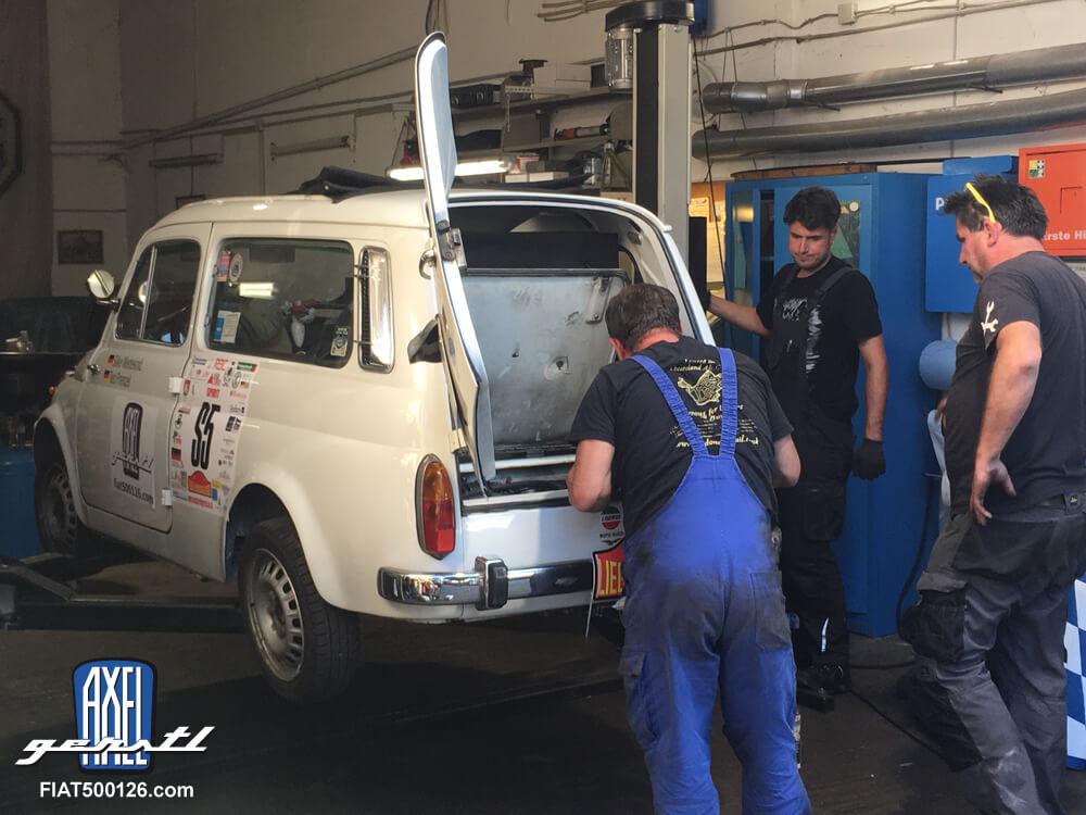 Classic Rally Liège-Brescia-Liège