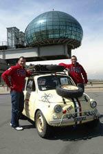 Im Fiat 500 von Turin nach Peking