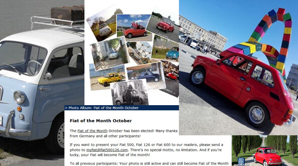 Fiat 500 classic and Fiat 126 Newsletter