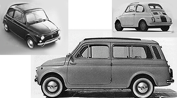 Fiat 500 oldtimer history and images