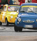 Lowering kit by Logotech for the Fiat 500 vintage