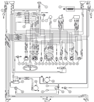 Fiat 500, Fiat 126, Fiat 600 Circuit diagrams