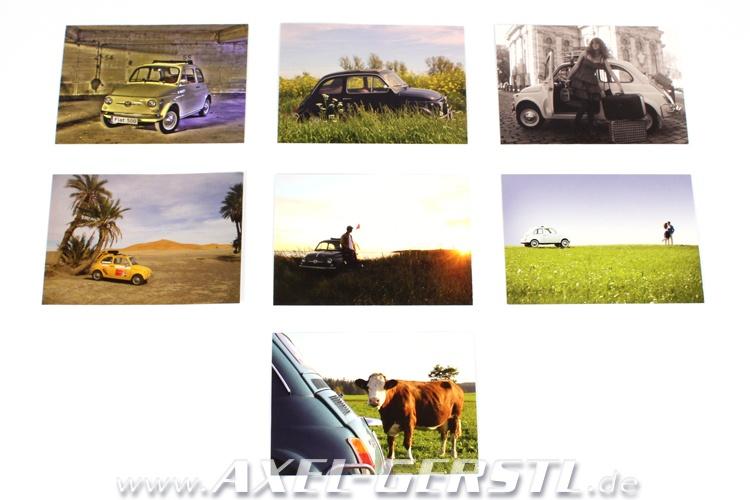 Set di cartoline (7 pezzi), ogni 148 x 105 mm