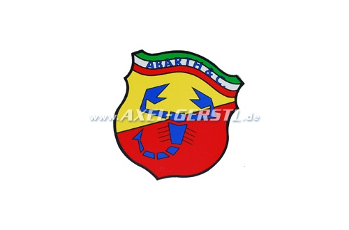 Abarth sticker, 70 x 60 mm