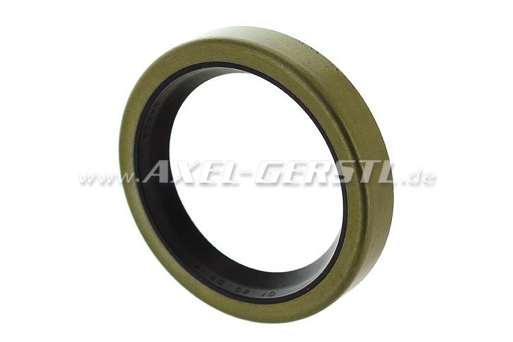 Radial shaft seal ring for rear wheel bearing