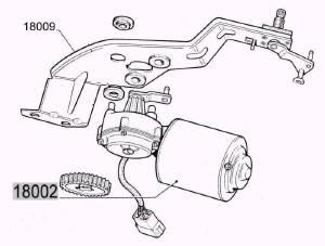 moteur d u0026 39 essuie-glace fiat 500 f  l  r   126