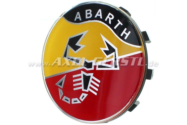 Abarth wheel cover, logo, 58mm/60mm