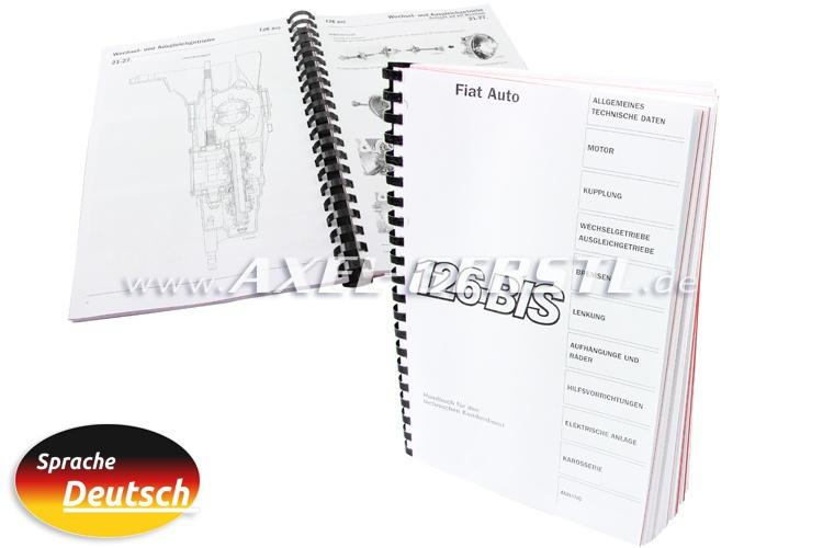 Manuale di riparazione DIN A4, copiato (tedesco)