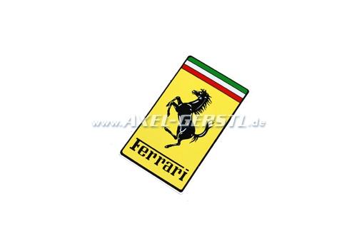 Aufkleber Ferrari, Wappen 100 mm