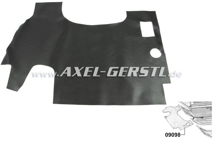Rubber mat for trunk (for small-size fuel tank)