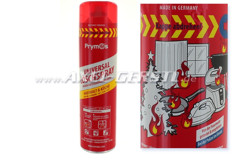 Estintore universale, spray, Prymos, 580 ml