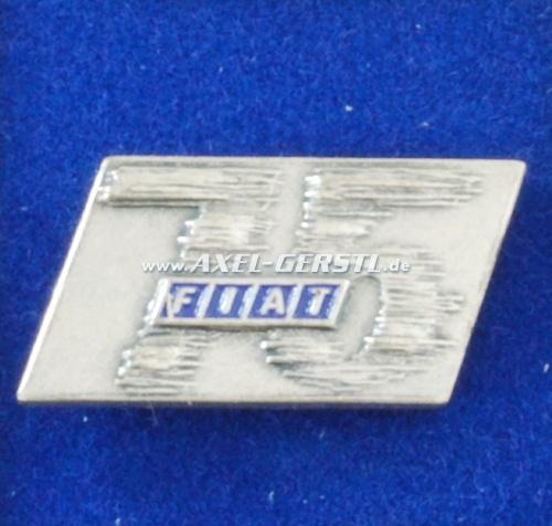 Anstecknadel/Pin 75 Jahre Fiat