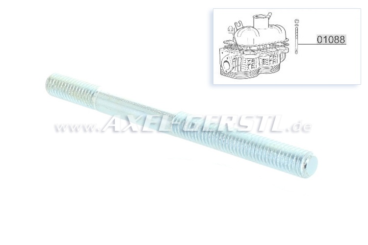 Stud bolt for valve cover/rocker shaft M8 x 1.25