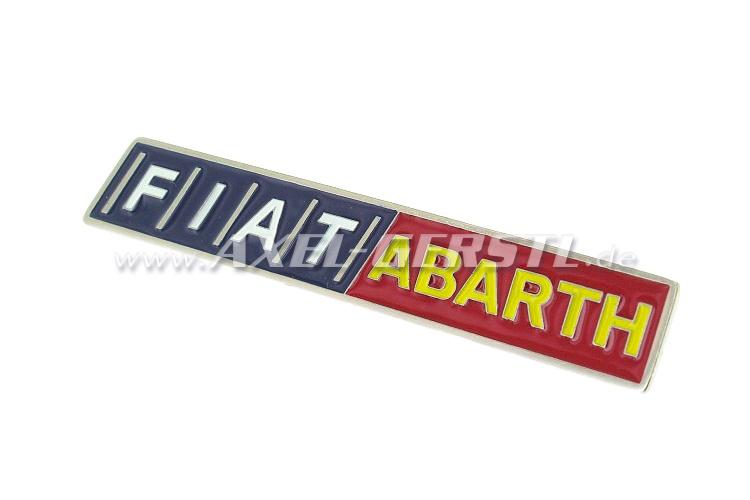 Fiat/Abarth emblem, adhesive