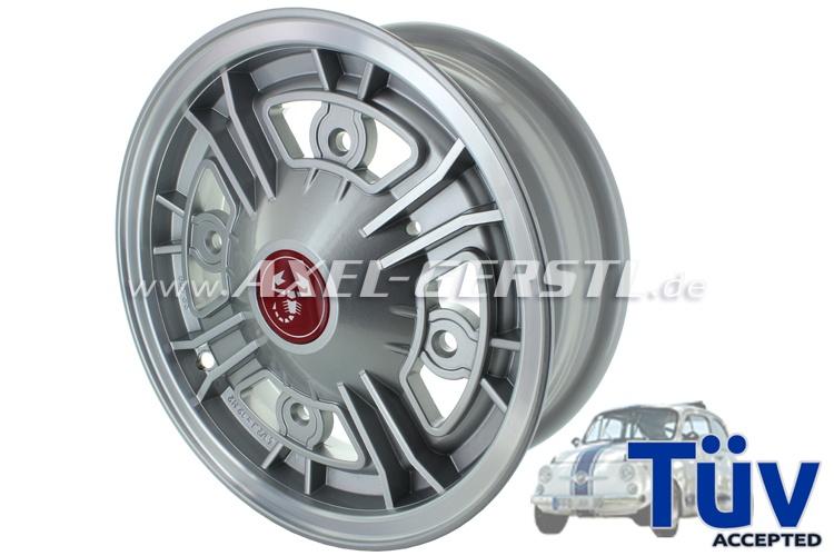 Aluminum rim MELBER 4.5x12 (pitch circle 190), offset 27mm