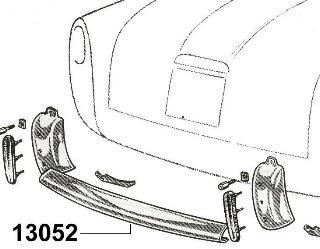 Bumper, rear