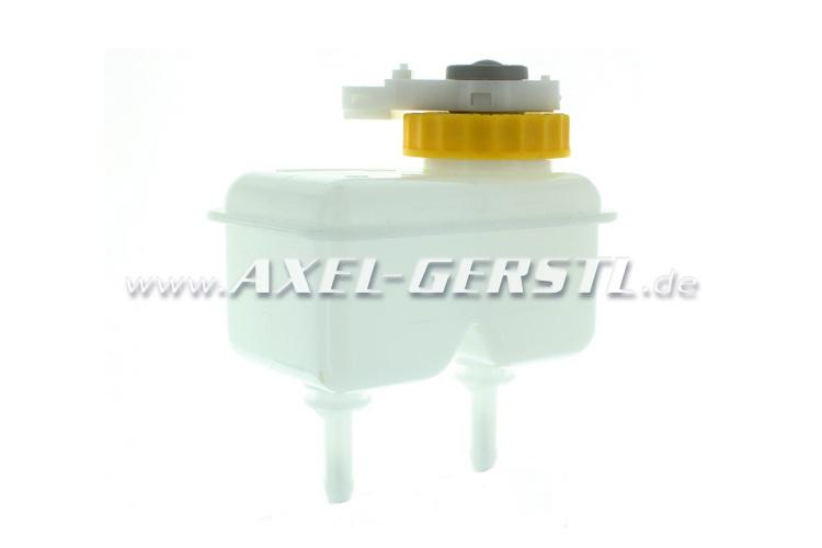 Brake fluid tank (dual-circuit) with warning switch, square