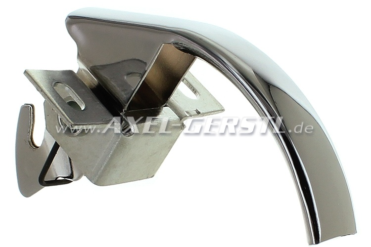Engine cover lock (chrome), original form, without keys