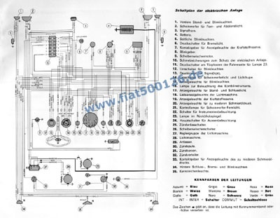 connection diagram 500 f copy size a3 fiat 500 126. Black Bedroom Furniture Sets. Home Design Ideas