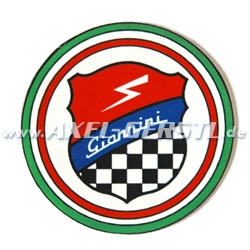 Giannini sticker, round, 49 mm