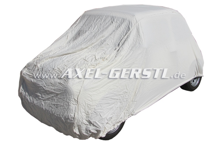 Car cover, PEB-blue with foam lining