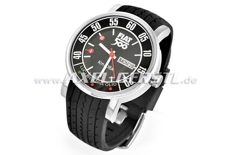 Orologio Fiat 500 contachilometri, nero