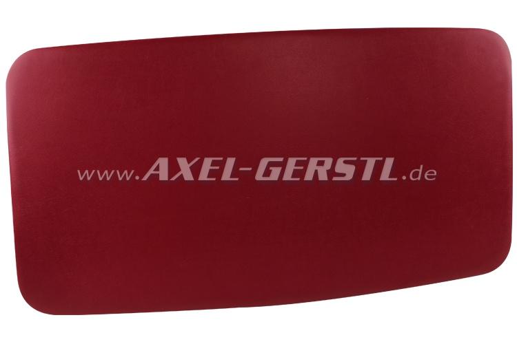 Himmel (Kunstleder bezogen & gepolstert), rot