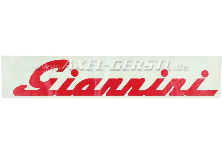 Autocollant Giannini 260 mm, rouge
